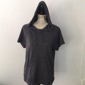 Old Navy Women's Medium short sleeve hoodie top